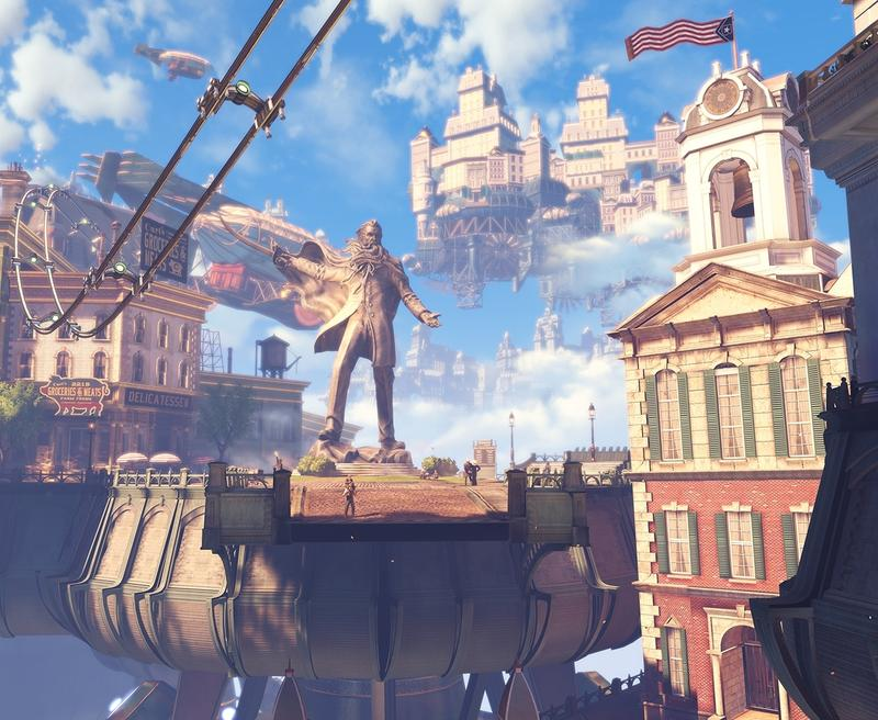 A screenshot from <em>BioShock Infinite</em>