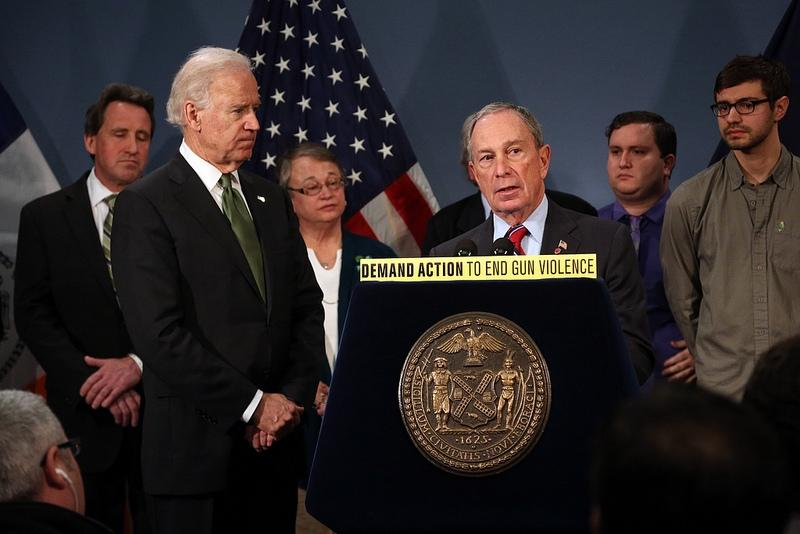 Mayor Bloomberg joins Vice President Joe Biden and families from Newtown, Connecticut to discuss need for federal gun control laws.