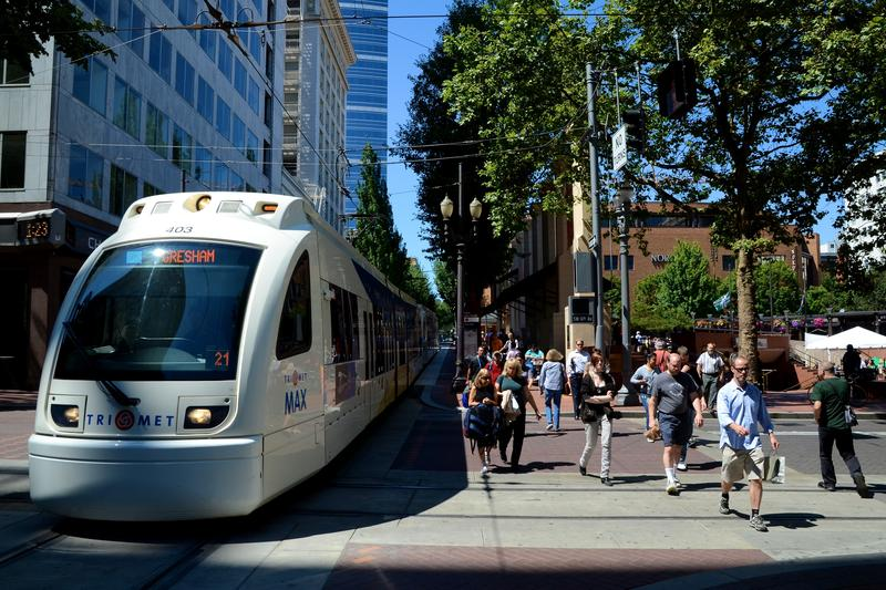 Portland's Blue Line