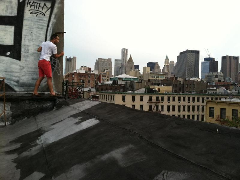 Ryan Kailath on a downtown rooftop.