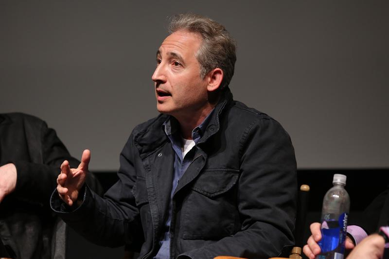 Theoretical physicist Brian Greene speaks at the Tribeca Film Institute and Alfred P. Sloan Foundation's celebration of the 2015 Sloan Grantees and 'Good Will Hunting' retrospective April 2015 in NYC.