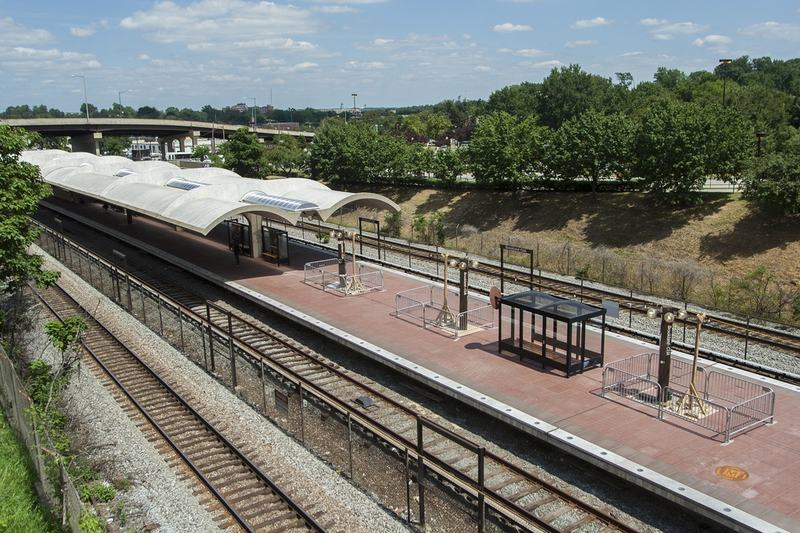 Brookland is one of five stations Metro officials are looking to develop.