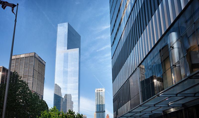 Rendering of 4 World Trade Center.