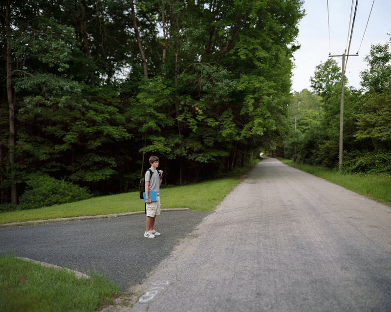 Charles, 2013 -- from Greg Miller's photos of students waiting at school bus stops