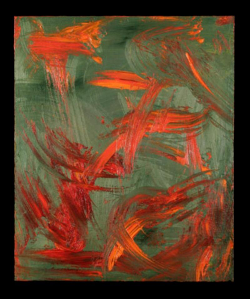<em>Clouds Rise Up</em> by Carol Steen, a painter and synesthete