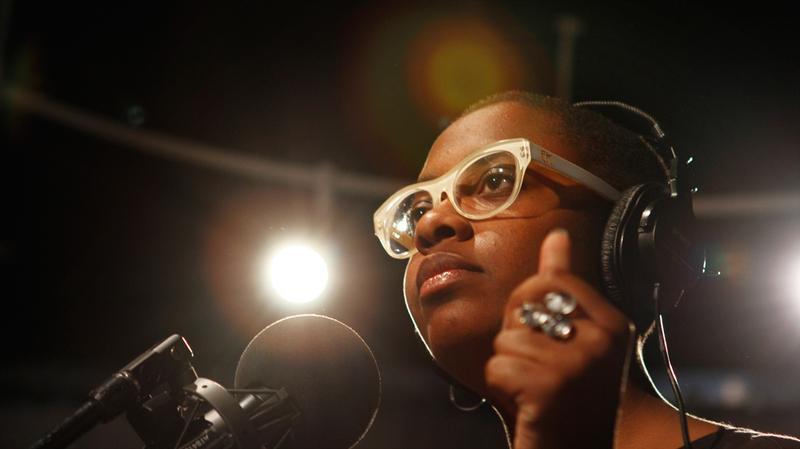 Cecile McLorin Salvant performs in the Soundcheck studio.