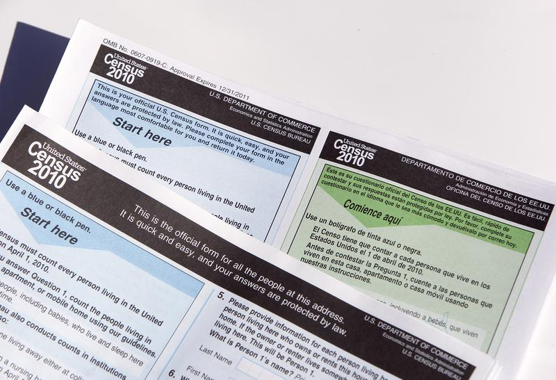Copies of the 2010 Census forms