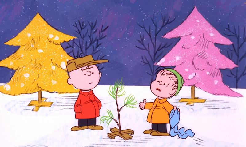 """Charlie Brown and Linus in """"A Charlie Brown Christmas"""""""