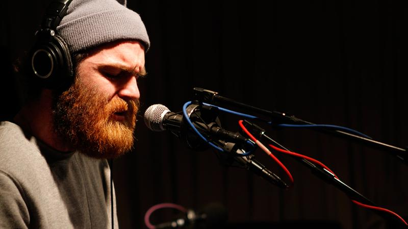 Chet Faker performs in the Soundcheck studio.