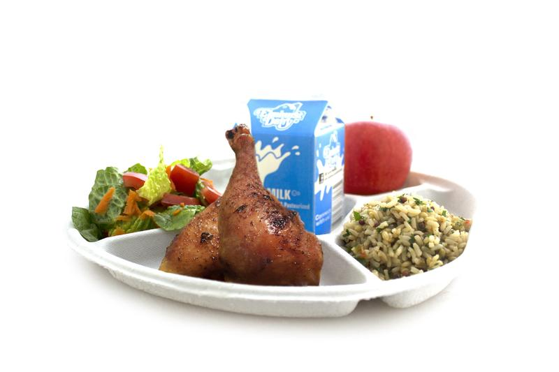 Compostable plates replaced foam trays in all New York City public schools as of June, 2015