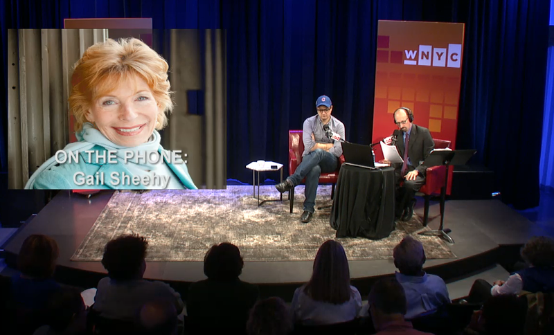 Chris Hayes and Gail Sheehy are live in conversation with Brian Lehrer in the Greene Space.