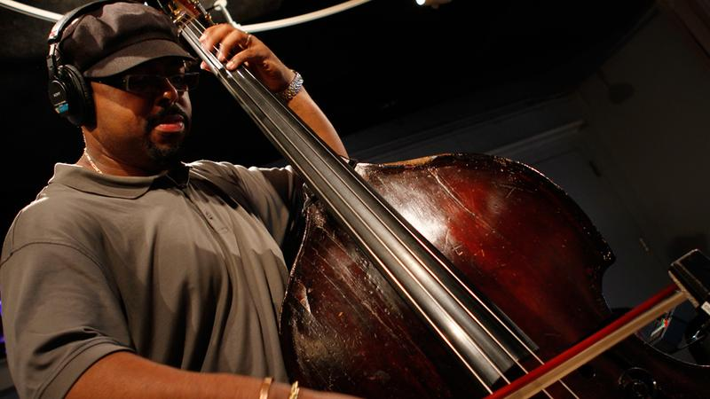 Christian McBride performs with his trio in the Soundcheck studio.