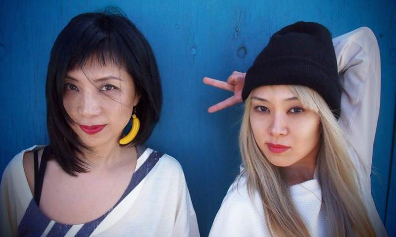 Yuka Honda and Miho Hatori of Cibo Matto