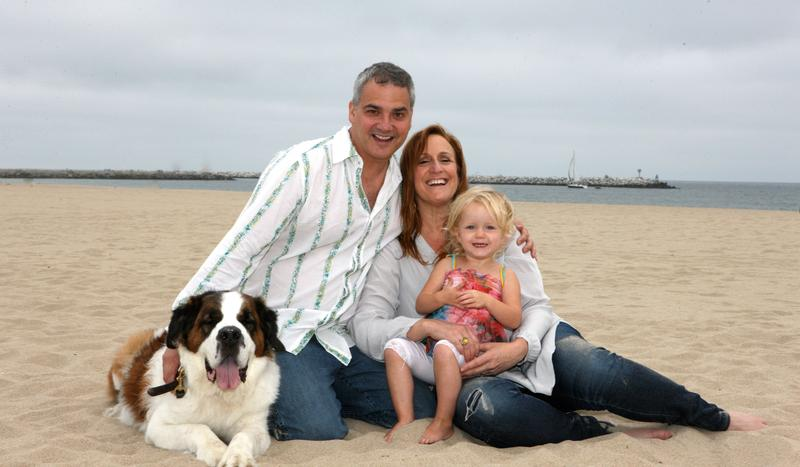 Cindy Chupack and her family