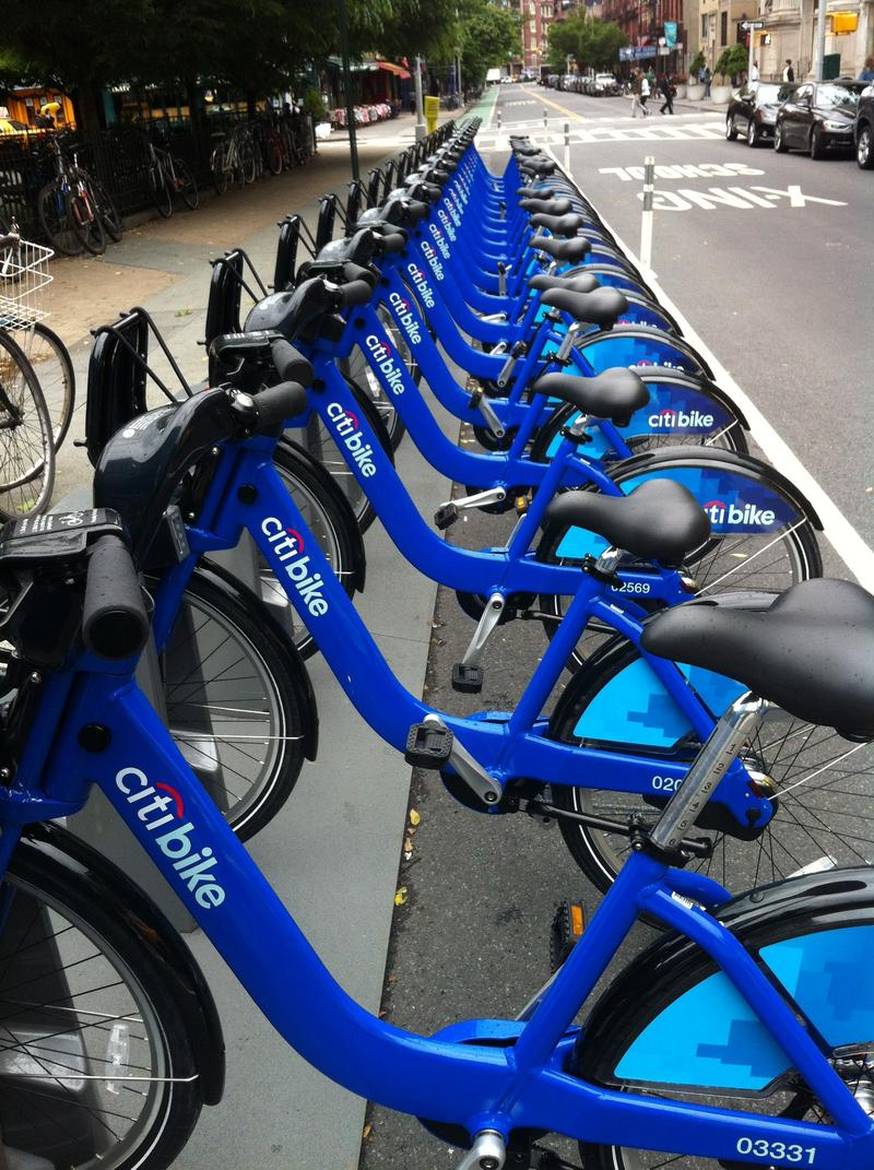 Citibike rack