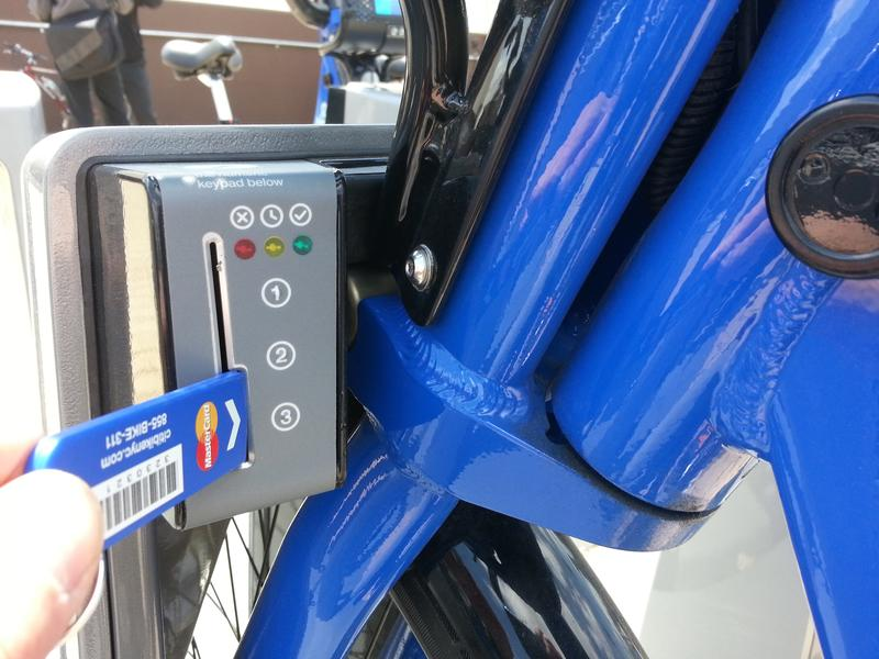 "Is Citi Bike's color ""dazzling?"" Color experts at Pantone say yes."