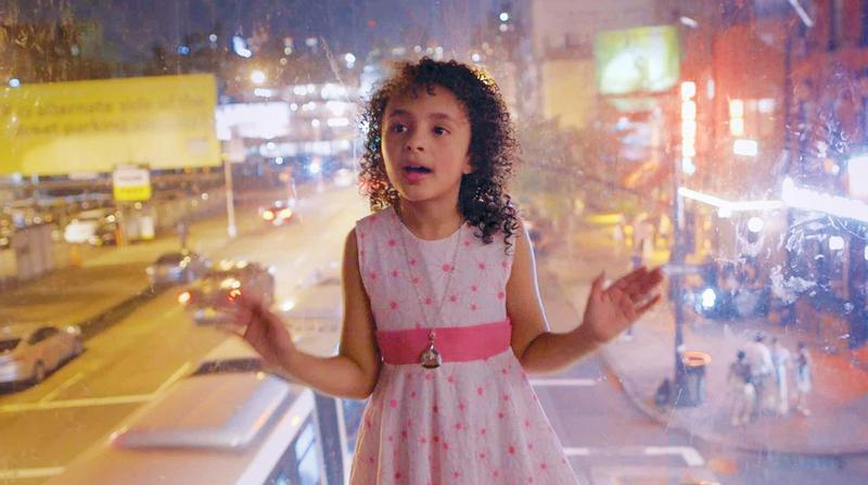 "Eight-year-old Rosa, a resident of West Chelsea, in the documentary ""Class Divide."""