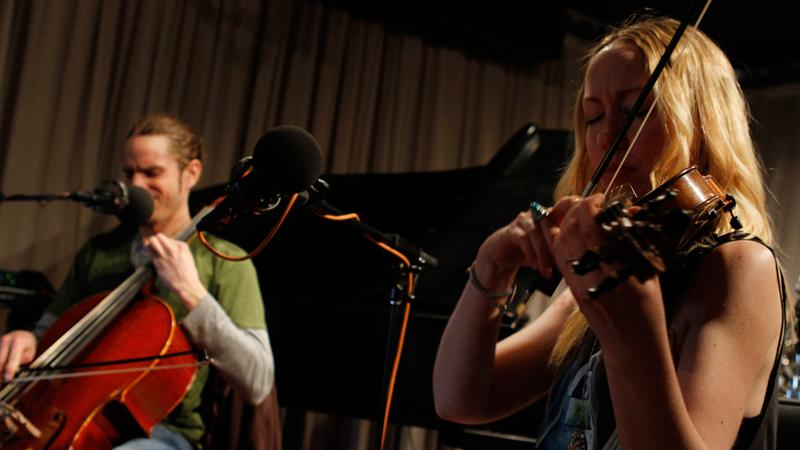 Cloud Cult performs in the Soundcheck studio.