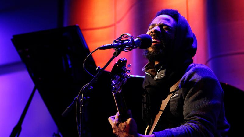 Cody ChesnuTT performs live on Soundcheck in the Greene Space at WNYC.