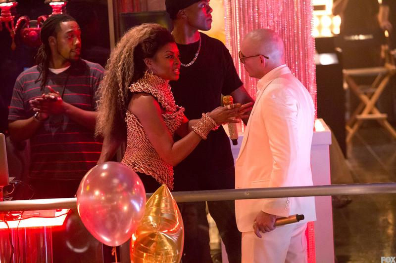 Taraji P. Henson and Pitbull weren't about to show up at Leviticus looking anything but fly.
