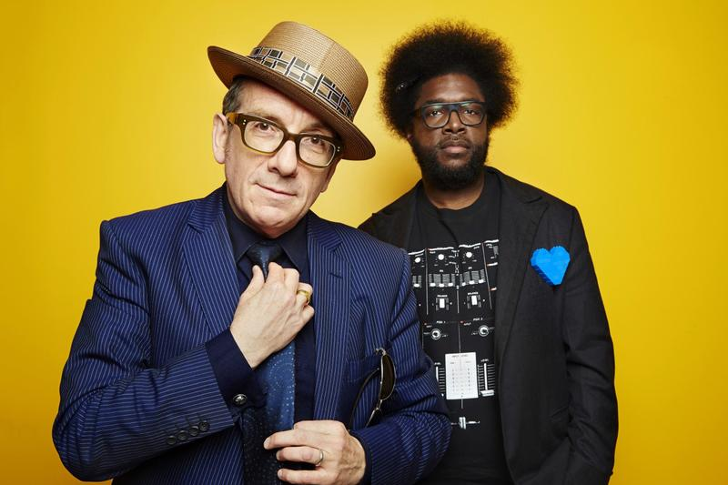 Elvis Costello and The Roots' collaborative album 'Wise Up Ghost' is out Sept 17.