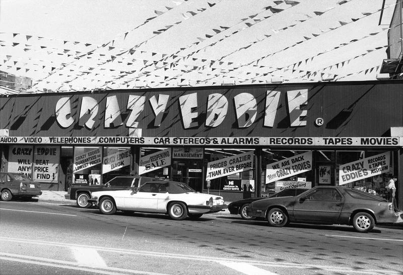A Crazy Eddie Store in Coney Island