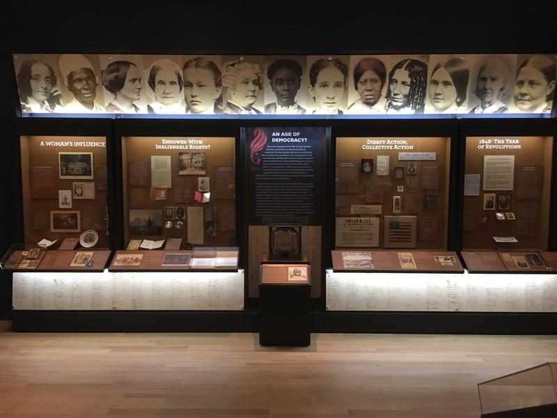 The Center for Women's History will have rotating exhibitions on display on the fourth floor of the New-York Historical Society on the Upper West Side.