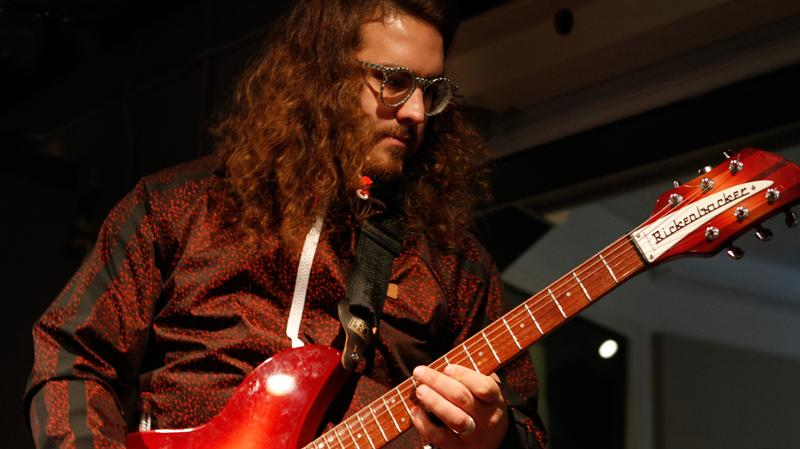 Dale Earnhardt Jr. Jr. performs in the Soundcheck studio.