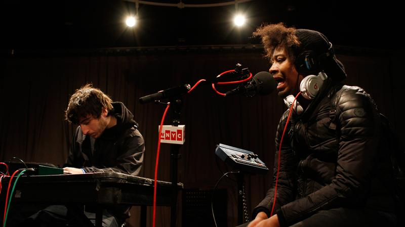 Danny Brown performs in the Soundcheck studio.