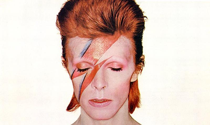 Aladdin Sane promotional material from RCA Records (detail)