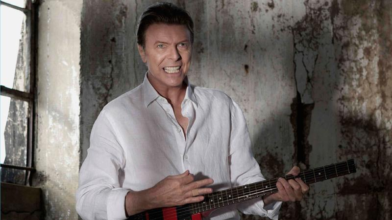 "David Bowie in the new video for ""Valentine's Day."""