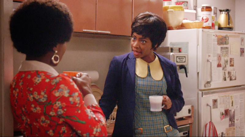Mad Men's Shirley and Dawn represent the few characters of color on the hit AMC show.