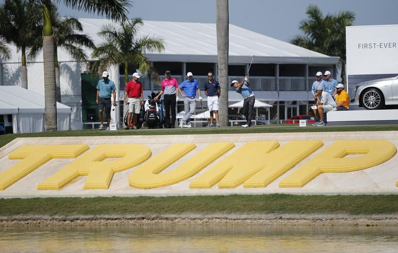 Predictions based on the current rate of sea level rise, says Thomas Friedman, indicate that Donald Trump's Florida golf course could end up underwater.