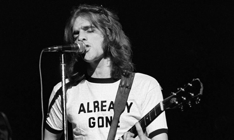 Glenn Frey performing with the Eagles in New York City