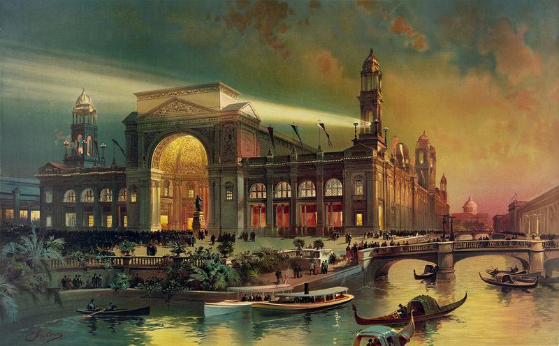 Electrical building, World's Columbian Exposition, Chicago