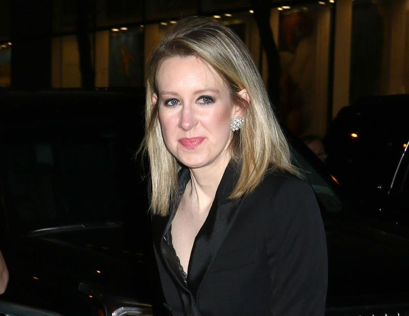 Theranos CEO Elizabeth Holmes is a self-made billionaire come under fire.