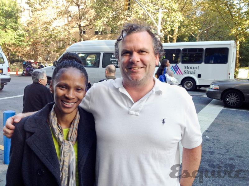 Stephanie Lee and Dr. Eric Schadt in New York in October 2013.