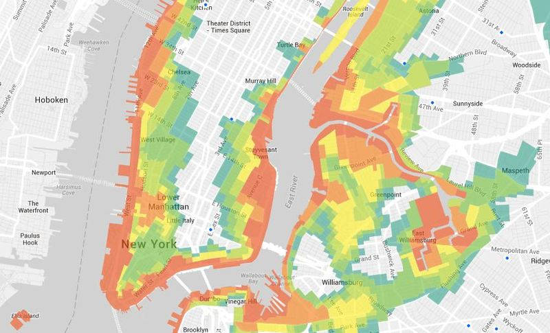 New York City unveiled its new evacuation map.