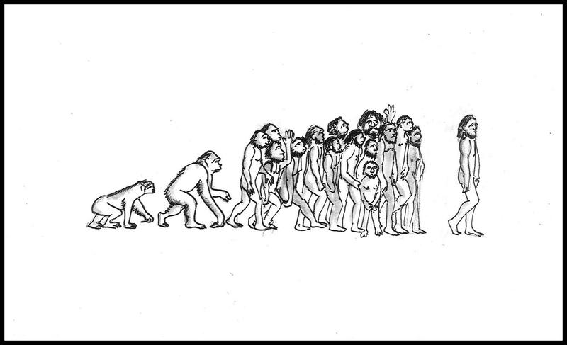 The evolution of humankind, the remix