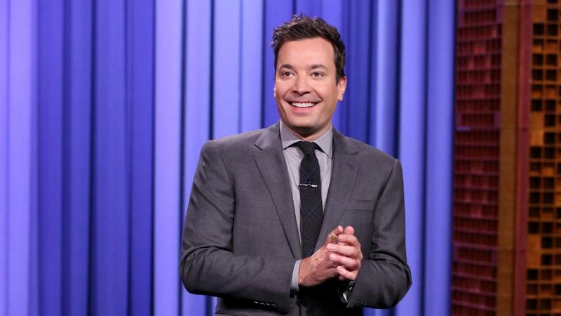 Jimmy Fallon delivers the monologue for The Tonight Show on October 29, 2015.