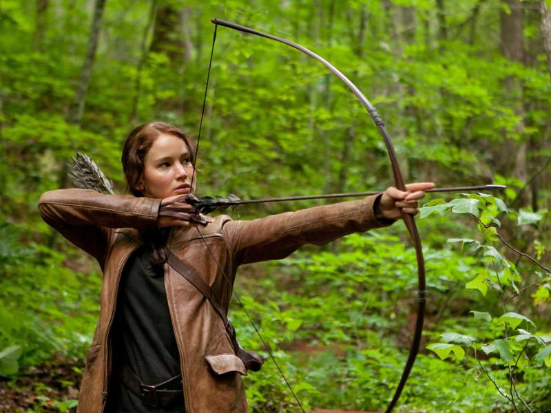 "Jennifer Lawrence stars in ""The Hunger Games: Catching Fire"""