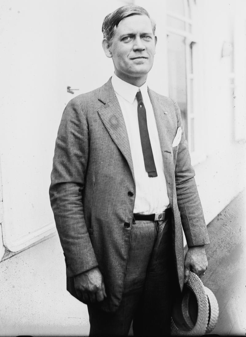 Cartoonist, writer, and WNYC sports commentator Thornton Fisher.