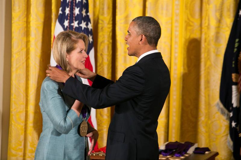 President Obama gives Renée Fleming a 2012 National Medal of Arts