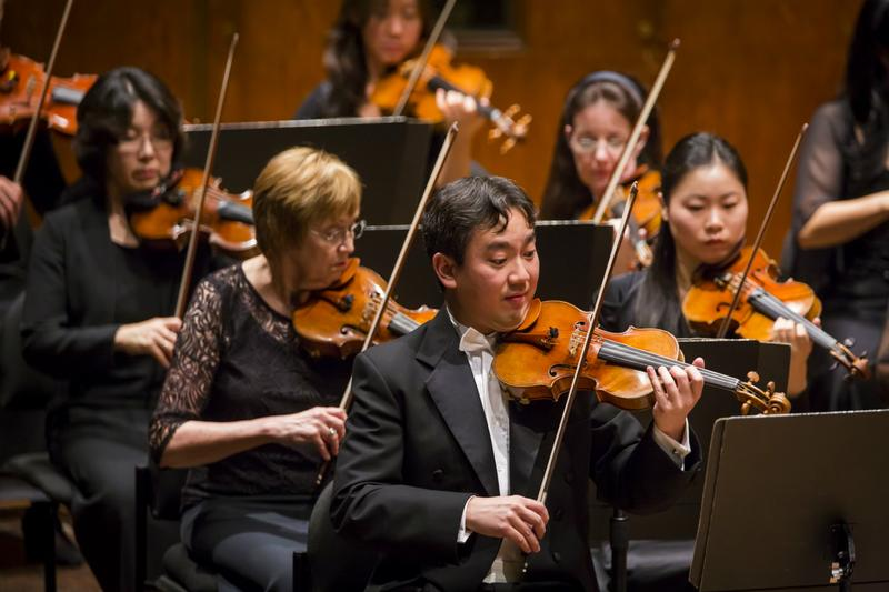 Frank Huang, the concertmaster of the New York Philharmonic.