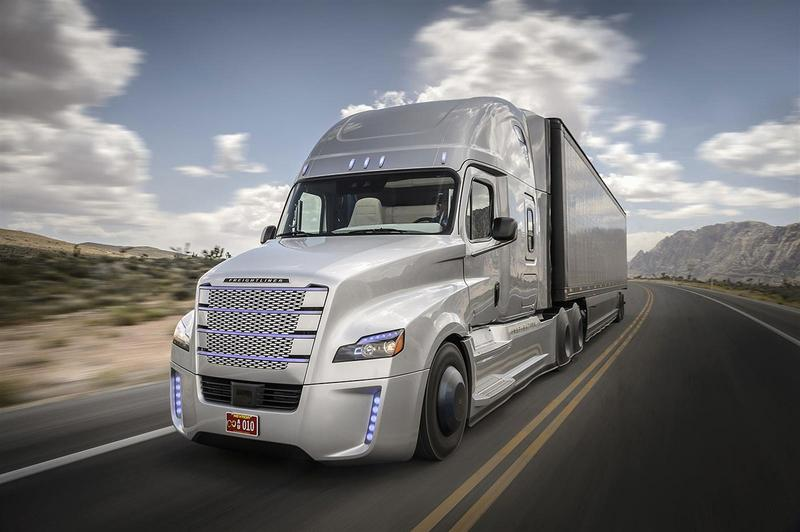 The Freightliner Inspiration Truck is now one of several limited autonomous vehicles.