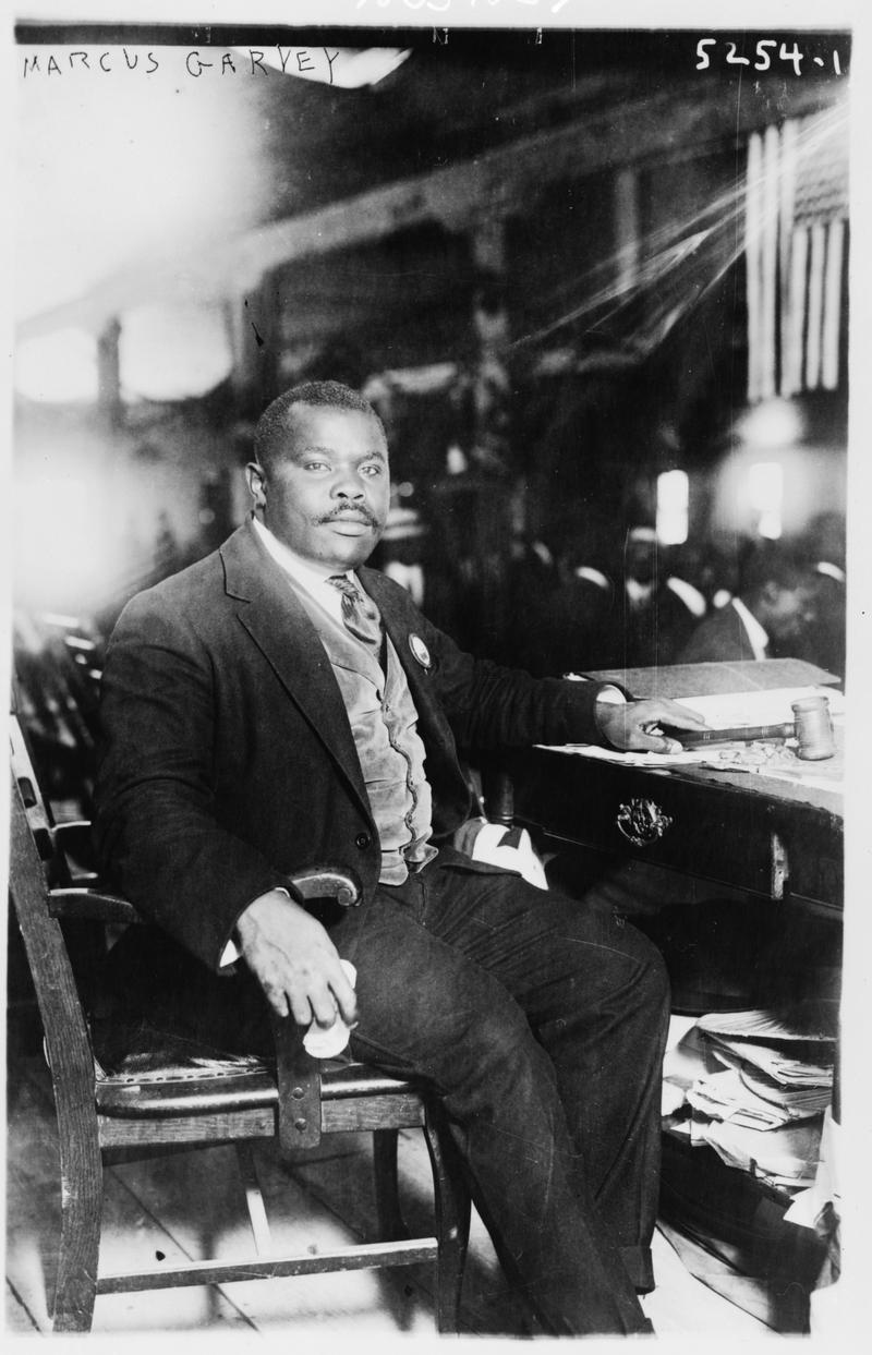 Marcus Garvey, August 5, 1924