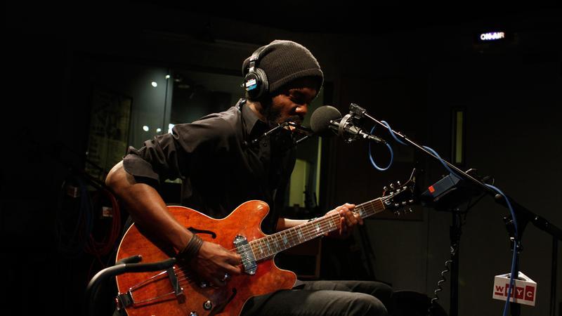 Gary Clark Jr. performs in the Soundcheck studio.