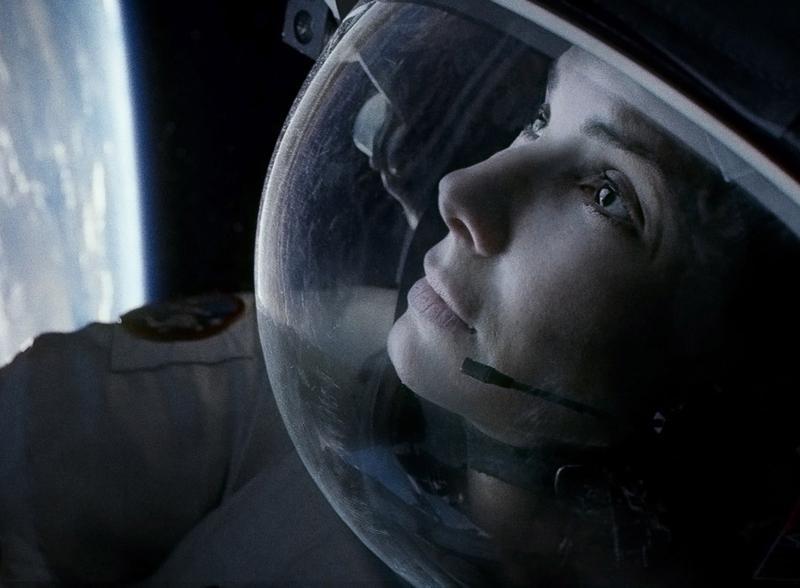 Sandra Bullock in Alfonso Cuarón's <em>Gravity</em>