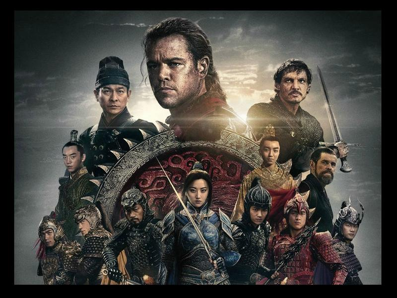 Poster for the film 'The Great Wall'