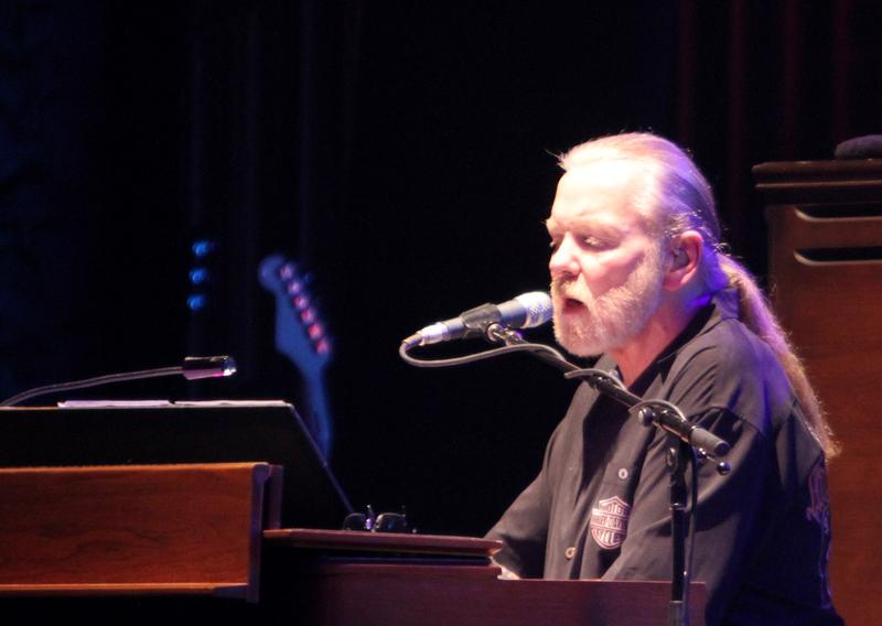 Gregg Allman of the Allman Brothers Band performs at Beacon Theatre on March 10, 2011 in New York City.